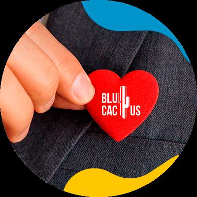BluCactus - red heart