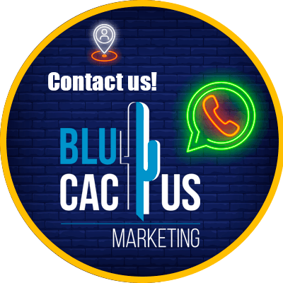 BluCactus - LED signs as a marketing strategy. - example of a led sign