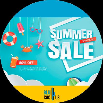 BluCactus - summer sale