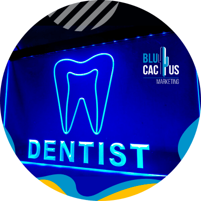 BluCactus - LED signs as a marketing strategy. - dentist