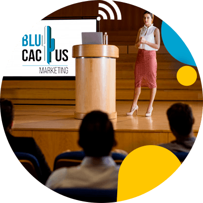 BluCactus - Types of presentations to attract clients - people working together