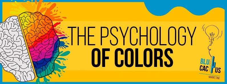 BluCactus -The psychology of colors - title