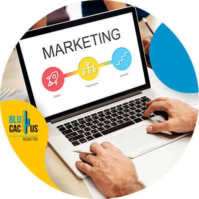BluCactus - What is Digital marketing? - a computer with important information
