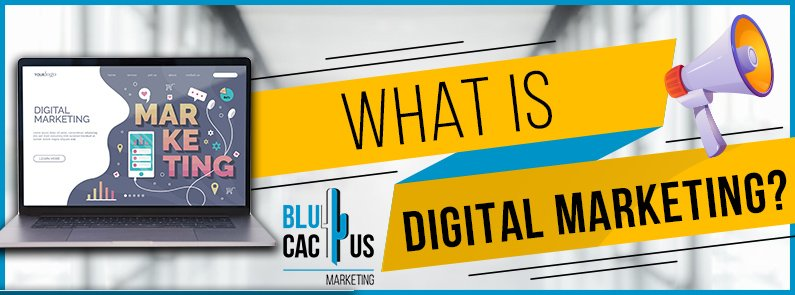 BluCactus - What is Digital marketing? - title