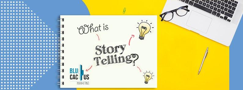 BluCactus - Storytelling - titulo