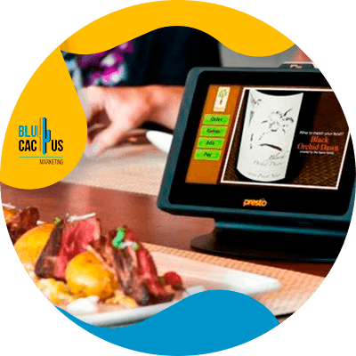 BluCactus - How much does a digital menu cost? - ipad for food