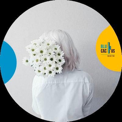 BluCactus - white