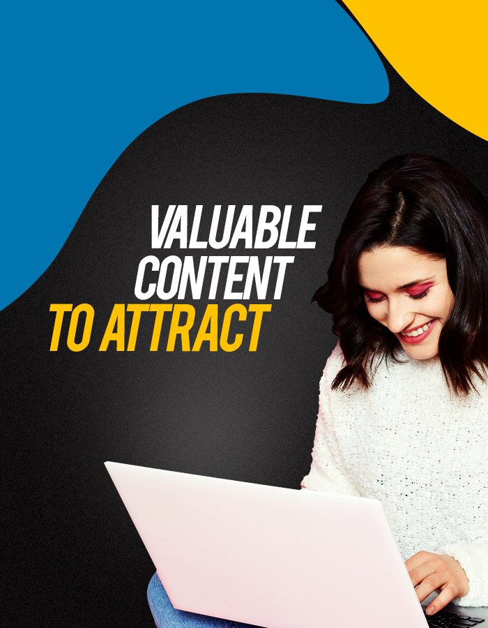 BluCactus Provide content at every stage for Inbound Marketing Services