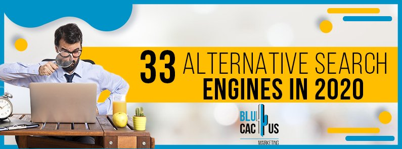 BluCactus -33 alternative search engines - title