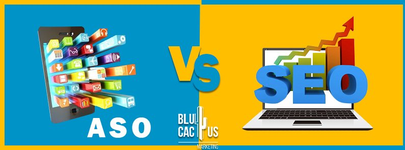 BluCactus - ASO vs SEO - title