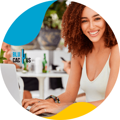 BluCactus -What is affiliate marketing - professional person working