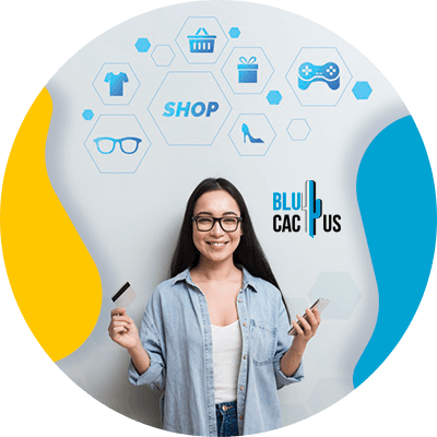 BluCactus - What is e-commerce? - professional person working
