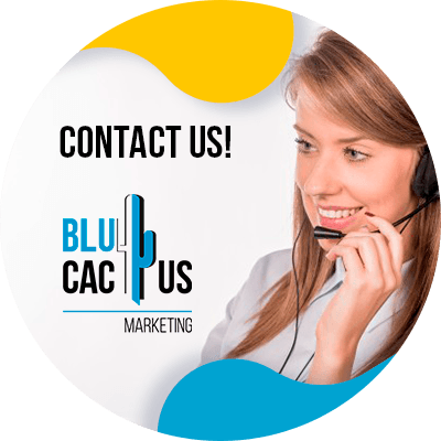 BluCactus - optimize your landing page for Google Ads - person working