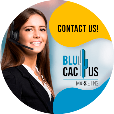 BluCactus - difference between a landing page and a website - profesional person working