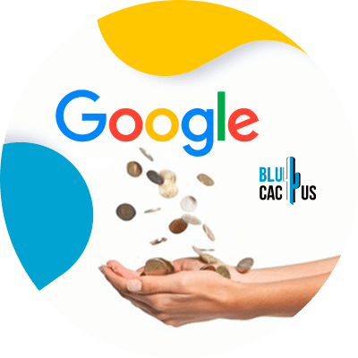 BluCactus - Google's monopoly - person using money