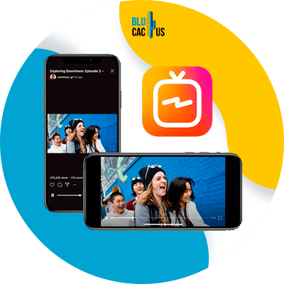 BluCactus - How to sell on Instagram? - cellphone with important information on it