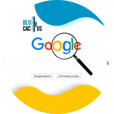 BluCactus - optimize your landing page for Google Ads - example of a landing page