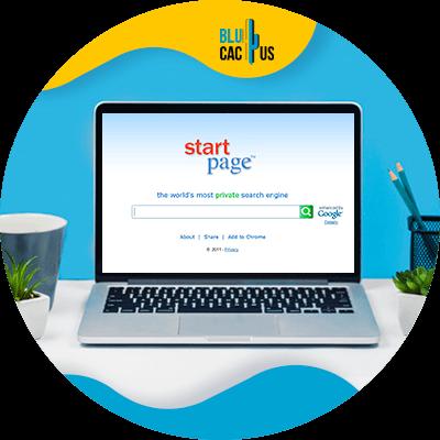 Blucactus-StartPage