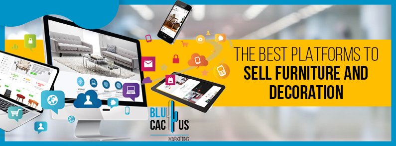 BluCactus - online platforms to sell furniture and decoration - title
