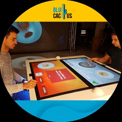 BluCactus - Benefits of a digital menu for restaurants - example of a digital menu