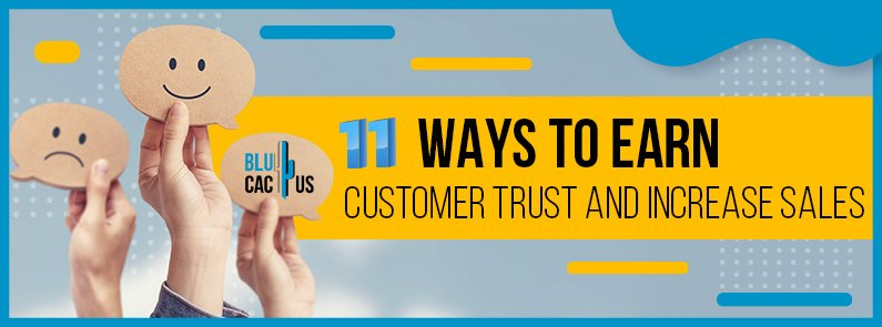 BluCactus - ways to build customer trust - title
