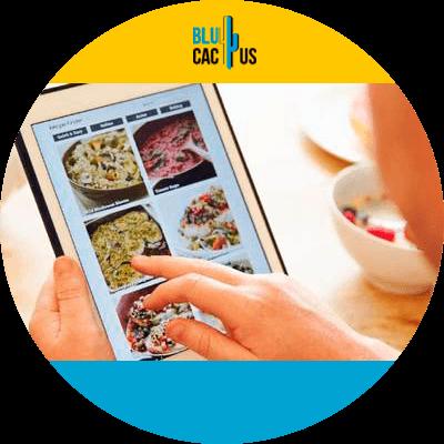 BluCactus - Benefits of a digital menu for restaurants - adaptable menu