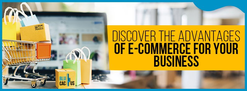 BluCactus - Advantages and disadvantages of an e-commerce - title