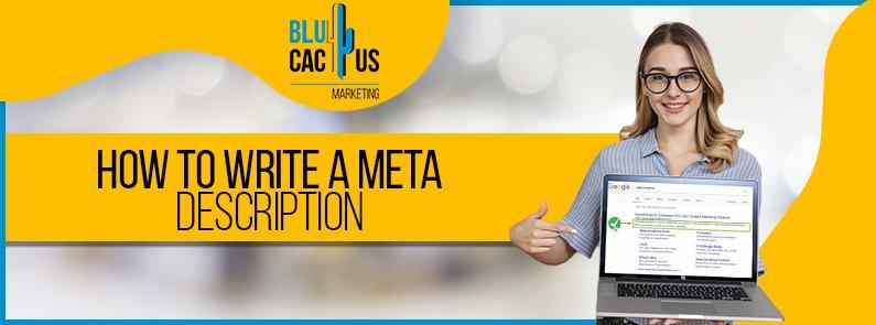 BluCactus -How to write a meta-description - titulo