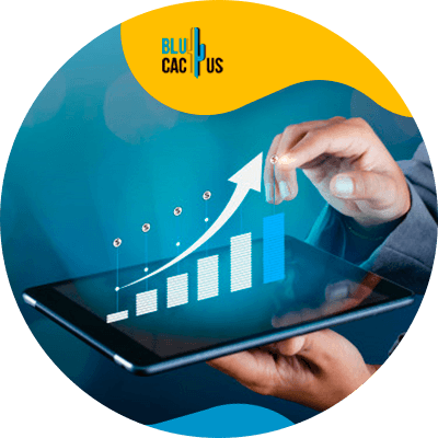 BluCactus - SEO statistics for the 2021 - ipad with important data
