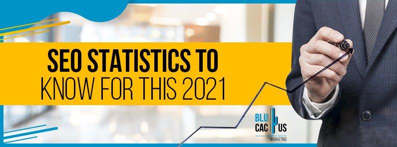 BluCactus - SEO statistics for the 2021 - title
