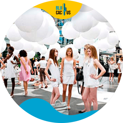 BluCactus - strategic planning for fashion events - example of a fashion event