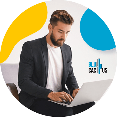 BluCactus - How much does a PowerPoint presentation cost? - computer with important data
