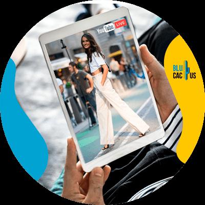 BluCactus - Digital fashion catwalks - exampleo of a fashion world