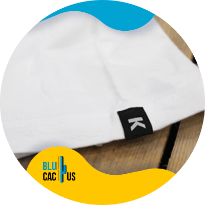 BluCactus - clothing label for your fashion brand - example of labels