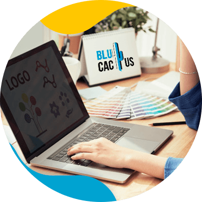 BluCactus - Branding 101 to start your business - professional person working