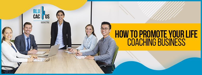 BluCactus - life coaching business - title