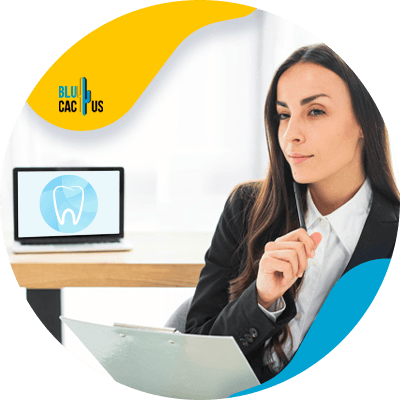 BluCactus - Marketing strategies for Dental Clinics - profesional person working
