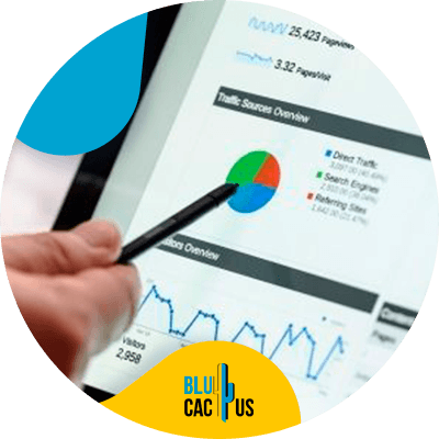 BluCactus - SEO audit checklist - computer with important information