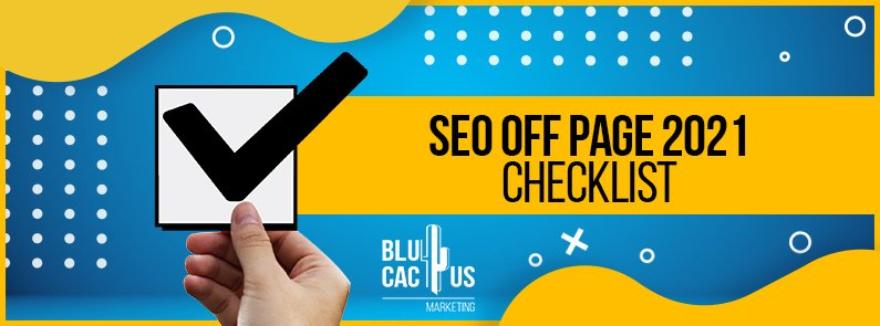 BluCactus -Off-Page SEO Checklist - title