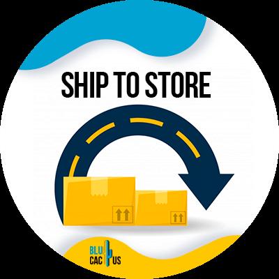 BluCactus - ship to store