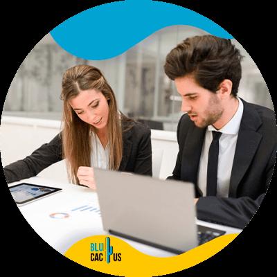 BluCactus - SEO audit checklist - profesional person working