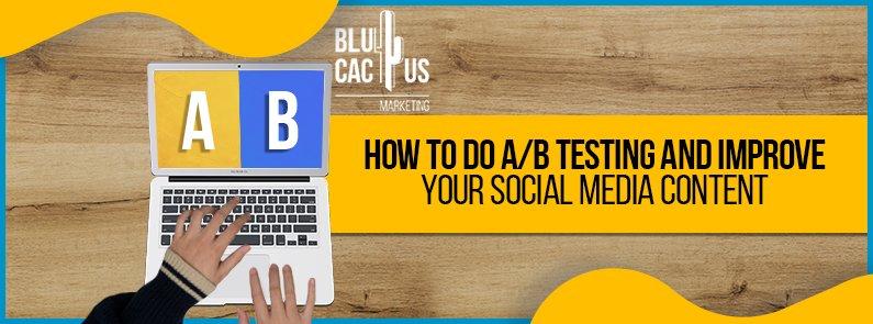 BluCactus - A/B testing - title