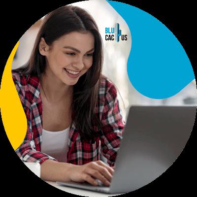 BluCactus - Shoe Marketing Strategies for 2021 - woman working