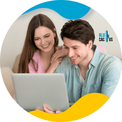 BluCactus - Online Loans - people working