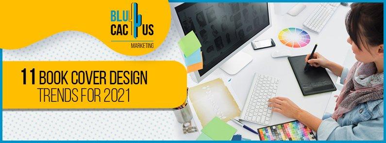 BluCactus - book cover design trends - title
