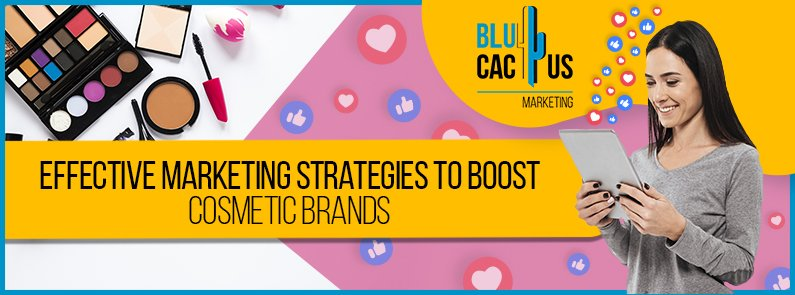BluCactus - marketing strategies for cosmetics brands - titulo