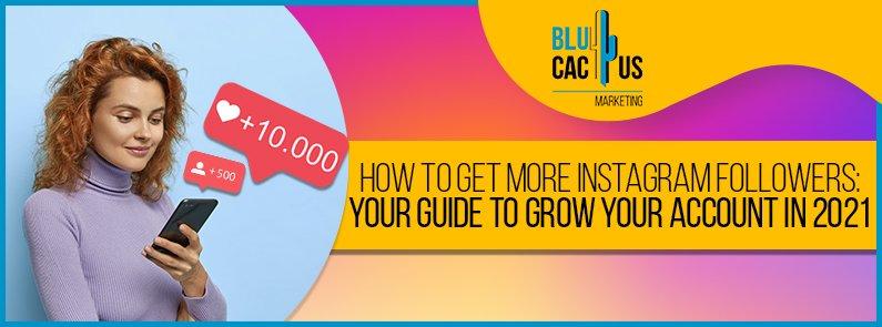 BluCactus - gain more Instagram Followers - title