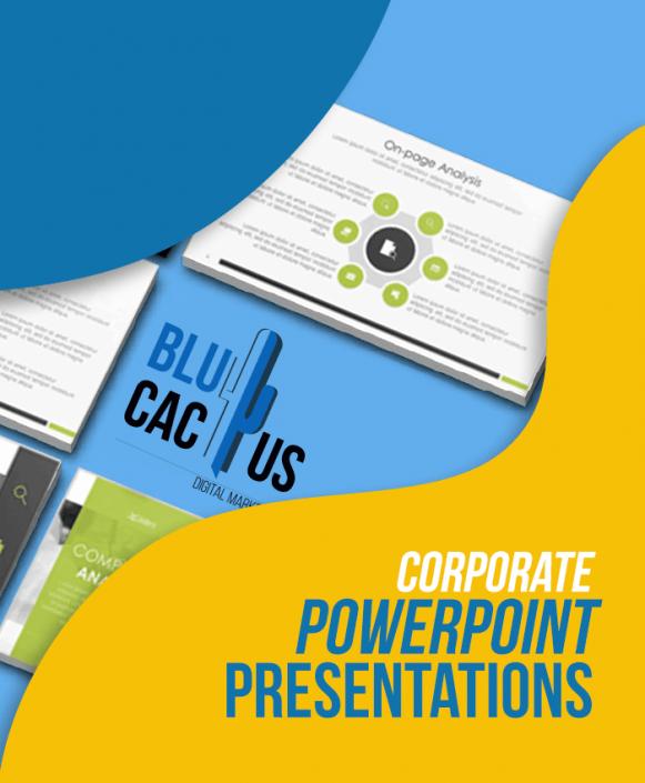 BluCactus - Corporate PowerPoint Presentation Design