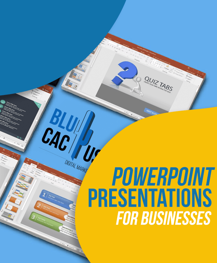 BluCactus - PowerPoint Presentations for businesses
