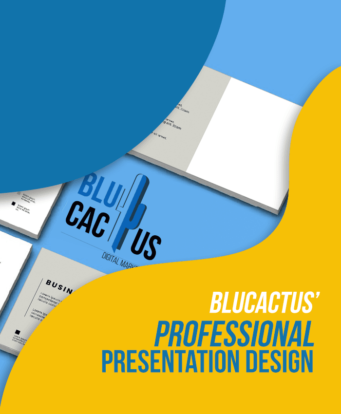 BluCactus - Digital Marketing Agency - Profesional Presentation Design
